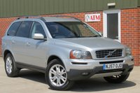 USED 2007 57 VOLVO XC90 2.4 D5 SE 5d AUTO 183 BHP FULL BLACK LEATHER INTERIOR + HEATED SEATS + LOW RATE FINANCE AVAILABLE + CAMBELT CHANGED