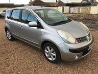 2007 NISSAN NOTE SE - Great family car - Japanese Reliability £3295.00