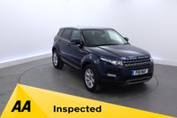 2012 LAND ROVER RANGE ROVER EVOQUE 2.2 SD4 PURE TECH 5d 190 BHP £20950.00