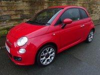 USED 2013 63 FIAT 500 1.2 S 3d 69 BHP