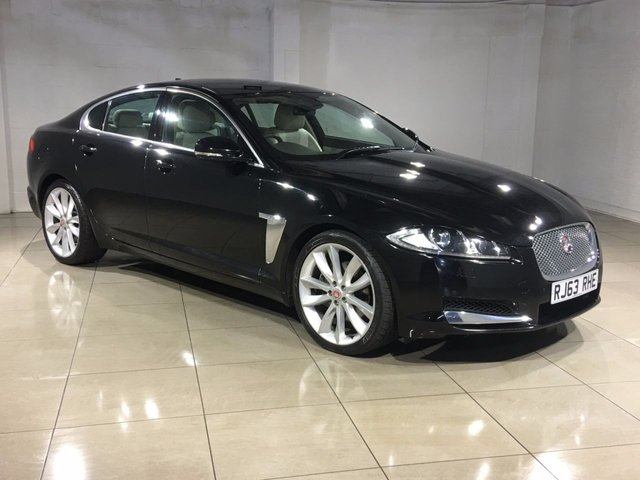 View our 2014 63 JAGUAR XF 3.0 D V6 PREMIUM LUXURY 4d AUTO 240 BHP
