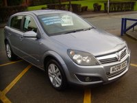 2008 VAUXHALL ASTRA 1.6 SXI 5d 115 BHP £3295.00