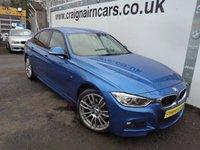 2014 BMW 3 SERIES 2.0 320D M SPORT 4d AUTO 181 BHP £20995.00