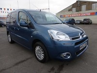 2012 CITROEN BERLINGO MULTISPACE 1.6 HDI VTR 5d 91 BHP £5995.00