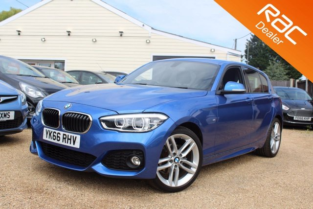 View our 2016 66 BMW 1 SERIES 1.5 116D M SPORT 5d 114 BHP