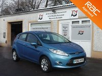 USED 2011 60 FORD FIESTA 1.2 ZETEC 5d 81 BHP Best Selling Small Car
