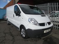 2014 RENAULT TRAFIC LL29 2.0 DCi 115 LWB *ONE OWNER*39000 MILES* £8750.00
