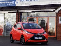 USED 2015 65 TOYOTA AYGO 1.0 VVT-i X-PRESSION 3dr * Half Leather & Rear Camera * *ONLY 9.9% APR with FREE Servicing*