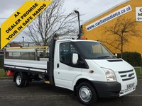USED 2012 62 FORD TRANSIT 125 T350 EF Dropside + Tail Lift 13.5FT Alloy Body DRW Ex Lease FSH Free UK Delivery