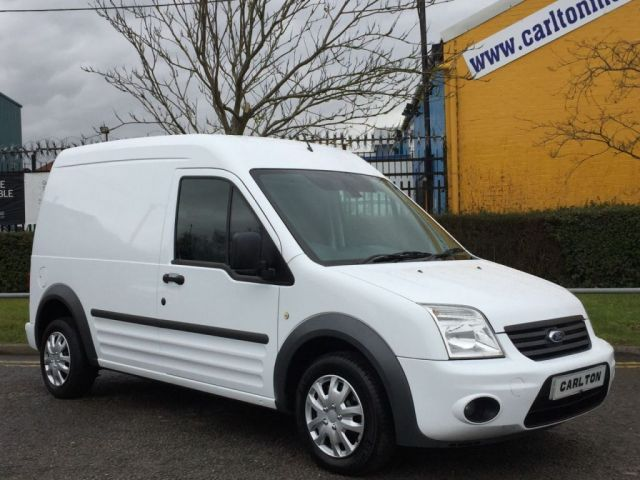 2012 12 FORD TRANSIT CONNECT TREND T230 Lwb High Roof van Ex Lease Fsh, Free UK Delivery