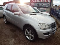 "USED 2006 06 MERCEDES-BENZ M CLASS 3.0 ML280 CDI SE 5d AUTO 188 BHP 20"" ALLOY WHEELS, LEATHER, HEATED SEAT,F.S.H"