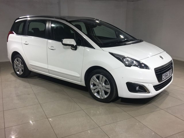 View our 2014 64 PEUGEOT 5008 1.6 HDI ACTIVE 5d 115 BHP