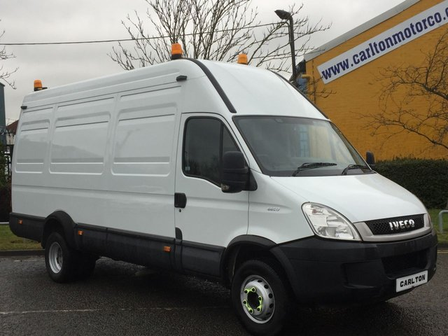 2009 59 IVECO-FORD DAILY 65C18 Lwb [ Mobile Workshop PTO-Generator ] van Low mileage Free UK Delivery