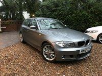 2008 BMW 1 SERIES 2.0 118D M SPORT 5d 141 BHP £7489.00