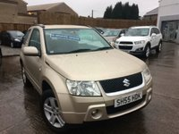 2005 SUZUKI GRAND VITARA 1.6 VVT PLUS 4WD £2995.00