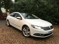 2012 VOLKSWAGEN CC 2.0 GT TDI BLUEMOTION TECHNOLOGY DSG 4d AUTO 138 BHP £11489.00