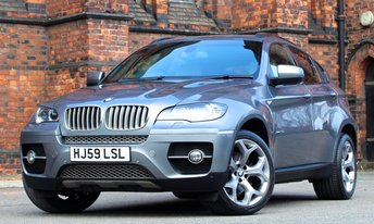 2009 BMW X6 3.0 XDRIVE35D 4d AUTO 282 BHP £20775.00