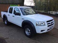 2007 FORD RANGER 2.5 DOUBLE CAB 4X4 1d 141 BHP £SOLD