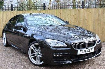 2014 BMW 6 SERIES 3.0 640D M SPORT GRAN COUPE 4d AUTO 309 BHP £30995.00