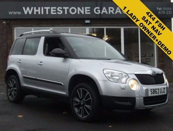 2013 SKODA YETI 2.0 ADVENTURE TDI CR 5d 140 BHP £9995.00