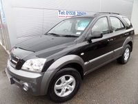 2006 KIA SORENTO 2.5 XE CRDI 5d 139 BHP TOWBAR, AIR CON, CLEAN CAR, DRIVES WELL £4495.00