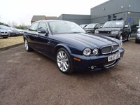 USED 2007 57 JAGUAR XJ 2.7 SOVEREIGN V6 LWB 4d AUTO 204 BHP 8 SERVICE STAMPS 2 OWNERS SAT NAV, CRUISE CONTROL, NOVEMBER 2017 MOT, SAT NAV DISC 2 KEYS