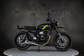 2019 HANWAY HS SCRAMBLER 125CC 0% DEPOSIT FINANCE AVAILABLE £2191.00