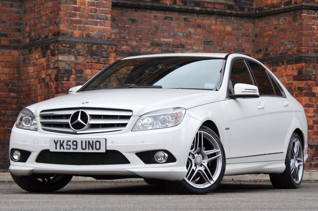 2009 59 MERCEDES-BENZ C CLASS 2.1 C220 CDI BlueEFFICIENCY Sport 4dr
