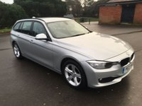 USED 2013 13 BMW 3 SERIES 2.0 318D SE TOURING 5d AUTO 141 BHP 1 OWNER FACELIFT AUTOMATIC DIESEL ESTATE WITH FSH