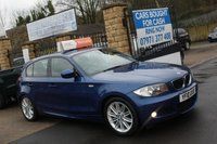 USED 2010 10 BMW 1 SERIES 2.0 116D M SPORT 5d 114 BHP