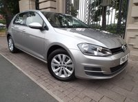 USED 2013 63 VOLKSWAGEN GOLF 1.6 SE TDI BLUEMOTION TECHNOLOGY 5d 103 BHP ****FINANCE ARRANGED***PART EXCHANGE****ADAPTIVE CRUISE CONTROL****FREE TAX****VOLKSWAGON SERVICE HISTORY***