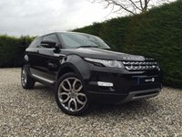 2013 LAND ROVER RANGE ROVER EVOQUE 2.2 SD4 PRESTIGE 3d AUTO 190 BHP £24990.00