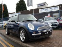 2003 MINI HATCH COOPER 1.6 COOPER 3d  £2995.00