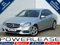 2013 MERCEDES-BENZ E CLASS 2.1 E220 CDI SE 4d AUTO 168 BHP £12949.00