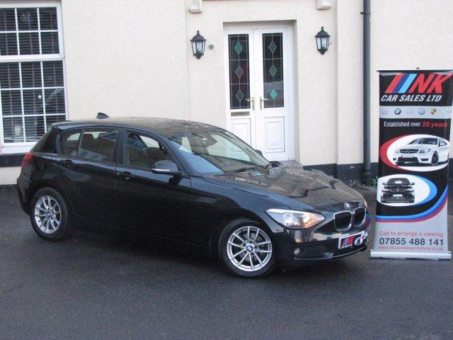2013 62 BMW 1 SERIES 1.6 116D EFFICIENTDYNAMICS 5d **SOLD DELEVERING TO BIRMINGHAM**