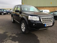 2009 LAND ROVER FREELANDER 2.2 TD4 E GS 5d 159 BHP £8595.00