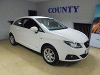 2011 SEAT IBIZA 1.2 S COPA 3d 68 BHP £5495.00