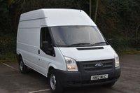 2012 FORD TRANSIT 2.2 T350 RWD 5d 99 BHP LWB HIGH ROOF DIESEL MANUAL VAN  £5690.00
