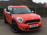 2011 MINI COUNTRYMAN 1.6 COOPER S ALL4 5d 184 BHP £11000.00
