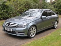 USED 2012 61 MERCEDES-BENZ C CLASS 2.1 C220 CDI BLUEEFFICIENCY SPORT ED125 4d AUTO 170 BHP