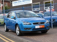 USED 2007 07 FORD FOCUS 2.0 TITANIUM D 5d  FULL HISTORY ~ AIRCON ~ ALLOYS ~ PRIVACY GLASS ~ SONY CD SYSTEM