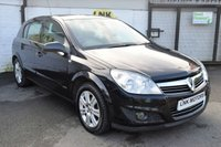 USED 2007 07 VAUXHALL ASTRA 1.6 ELITE 5d 115 BHP FULL LEATER - LOW TAX GROUP