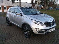 USED 2010 60 KIA SPORTAGE 1.7 CRDI 3 5d 114 BHP DIESEL FAMILY CAR WITH EXCELLENT SERVICE HISTORY / DRIVES SUPERBLY