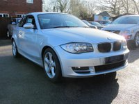 2008 BMW 1 SERIES 2.0 123D SE 2d 202 BHP 1 OWNER AMAZING ENGINE  £8999.00