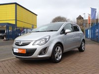USED 2013 13 VAUXHALL CORSA 1.2 SXI AC 5d AIR CONDITIONING ~ ALLOYS ~ FULL SERVICE HISTORY