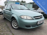 USED 2008 57 CHEVROLET LACETTI 1.6 SX 5d 108 BHP Great Value Petrol 5 Door Family Hatchback