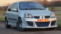USED 2005 05 RENAULT CLIO 1.1 DYNAMIQUE 16V 3dr WIDE ARCH BODY KIT + LOW MILES