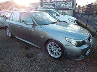2006 BMW 5 SERIES 2.5 525D SPORT TOURING 5d AUTO 175 BHP £4695.00