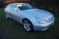 2005 MERCEDES-BENZ CLS CLASS 3.5 CLS350 4d AUTO 272 BHP,SAT-NAV,HEATED LEATHER,HISTORY £4490.00