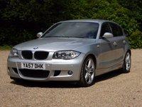 USED 2008 57 BMW 1 SERIES 2.0 123D M SPORT 5d 202 BHP